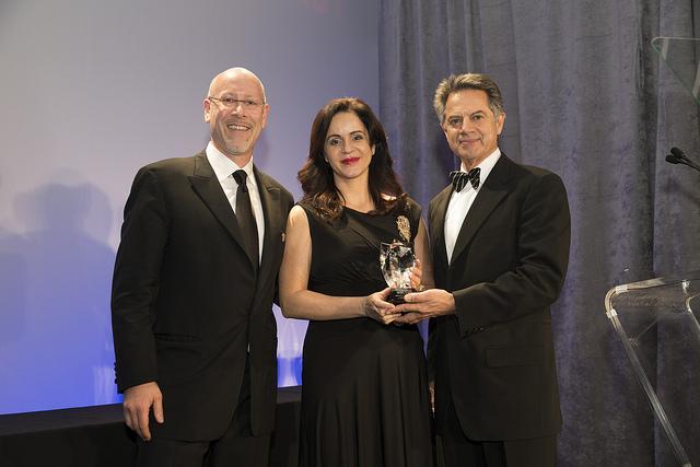 Entrega del Wine Star Award como Mejor Región Vinícola del Mundo en el año 2012